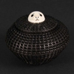 "3"" Baleen Basket with Seal Finial"
