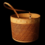 Cedar Bark Gathering Basket