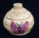 Butterfly Sea Grass Basket