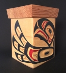 Eagle/Sun Bentwood Box